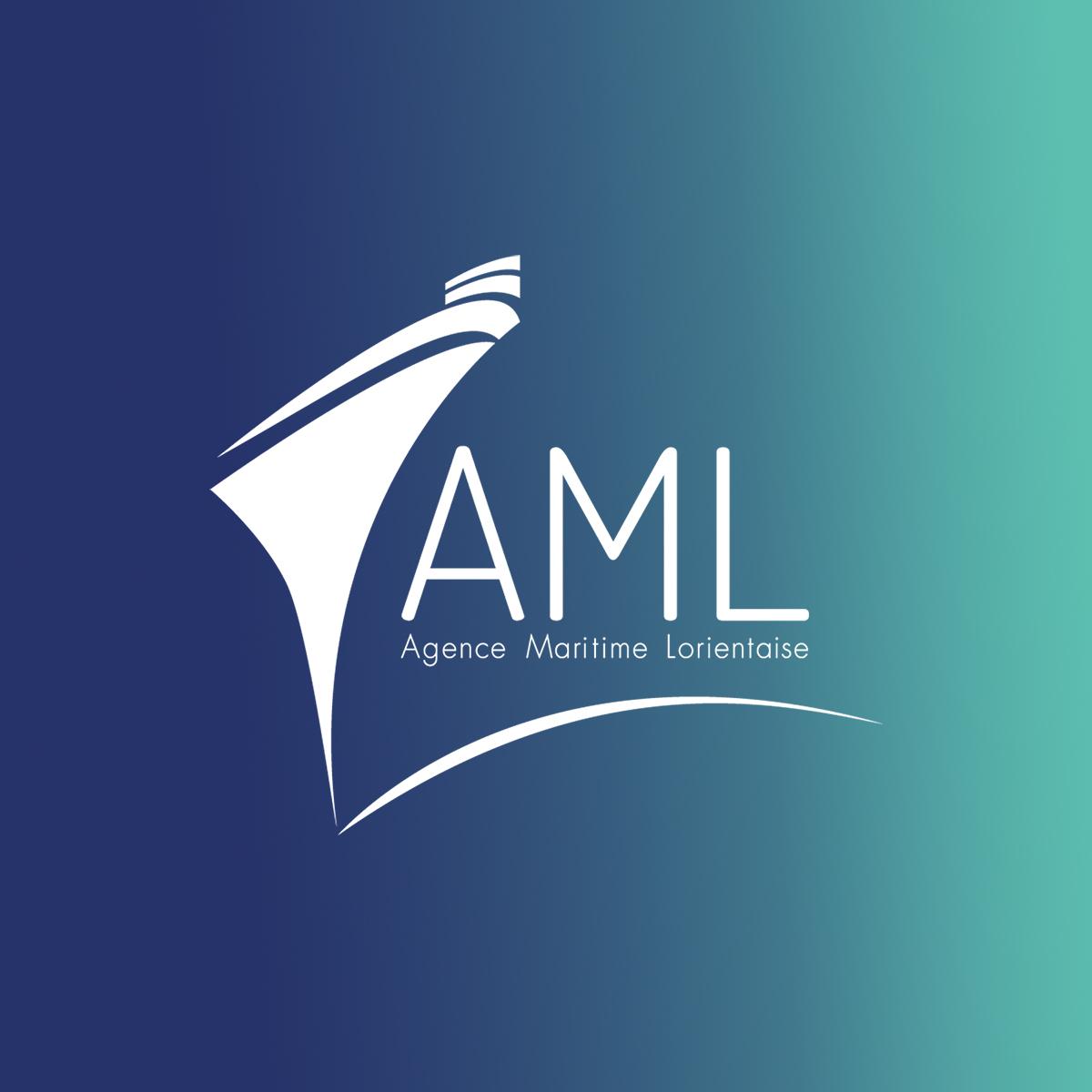 Agence Maritime Lorientaise logo